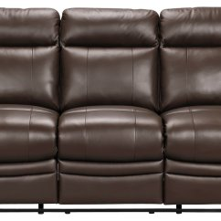 Argos Black Recliner Sofa Brown Leather Covers Buy Collection New Paolo 3 Seat & Chair ...