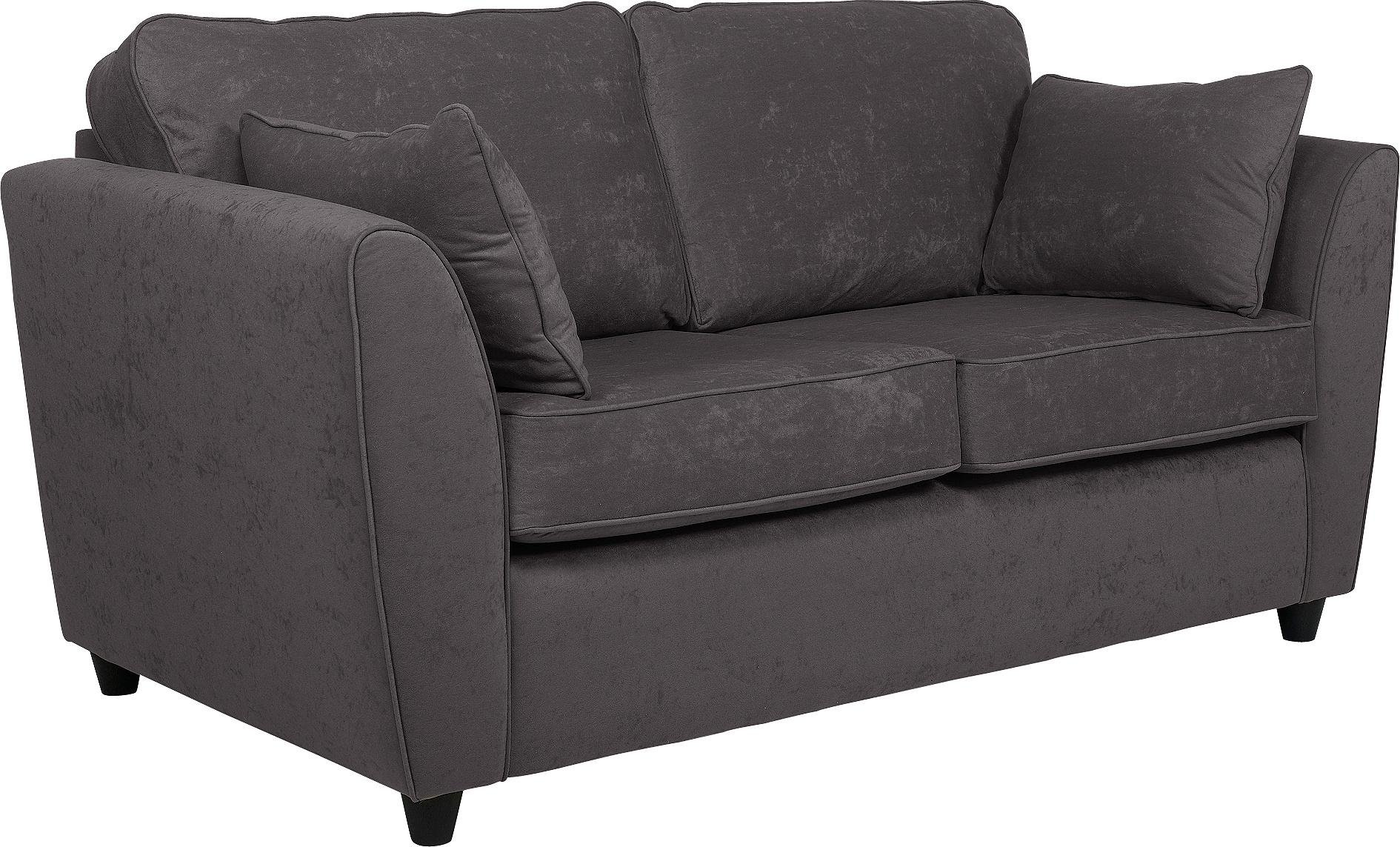 fabric chesterfield sofa argos cheap bed with storage uk sale on home eleanor 3 seater charcoal