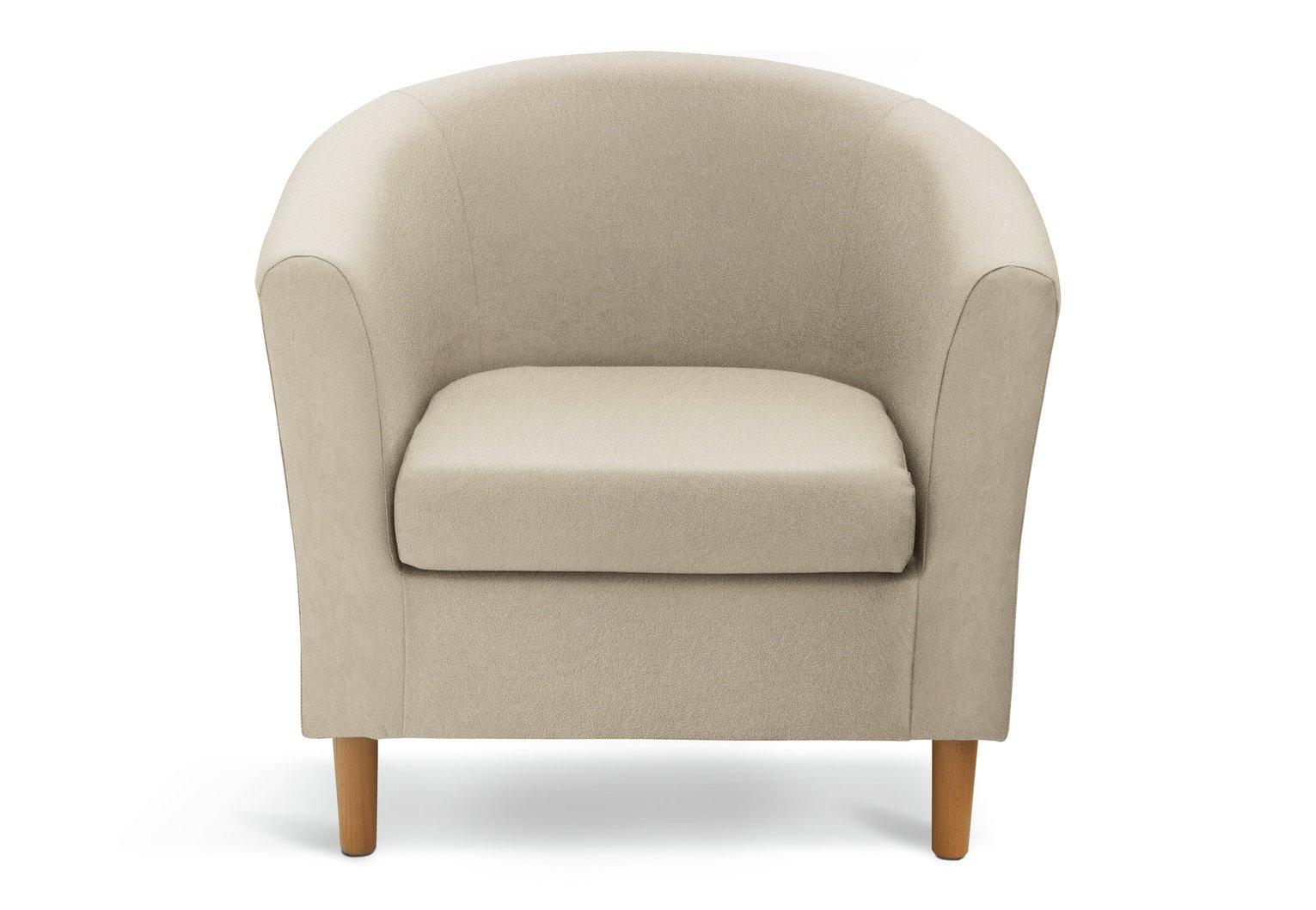 tub chair covers for sale reading room chairs buy argos home fabric mocha armchairs and