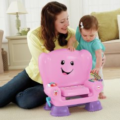 Fisher Price Chair Pink Office Covers Amazon Laugh And Learn Smart Stages