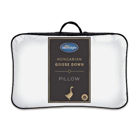 buy silentnight hungarian goose feather and down medium pillow pillows argos