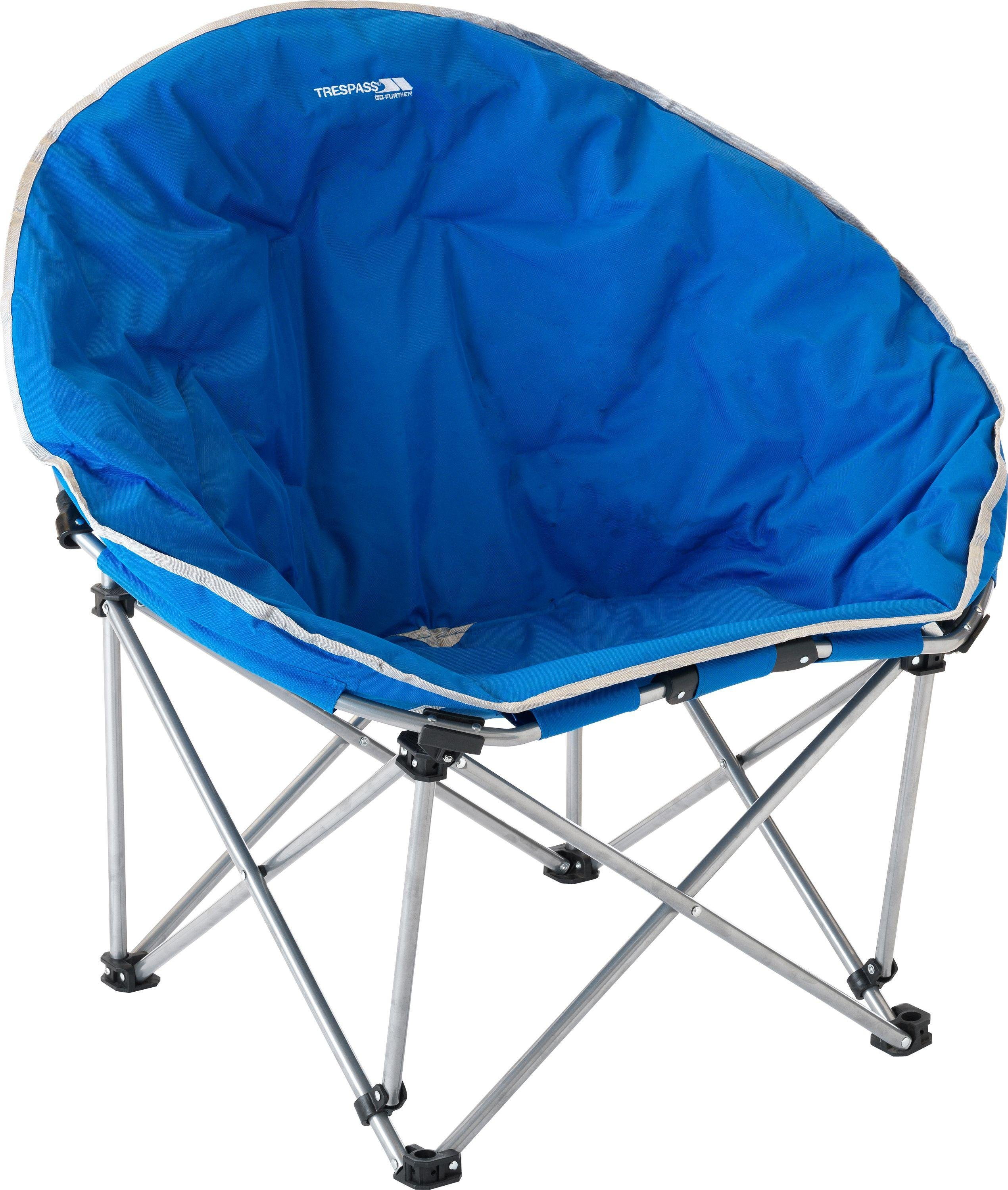 portable chairs argos rustic metal and wood dining trespass premium moon chair gay times uk 45 99