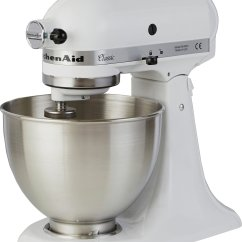 White Kitchen Aid Cabinet For Sale Buy Kitchenaid 5k45ssbwh Classic Stand Mixer