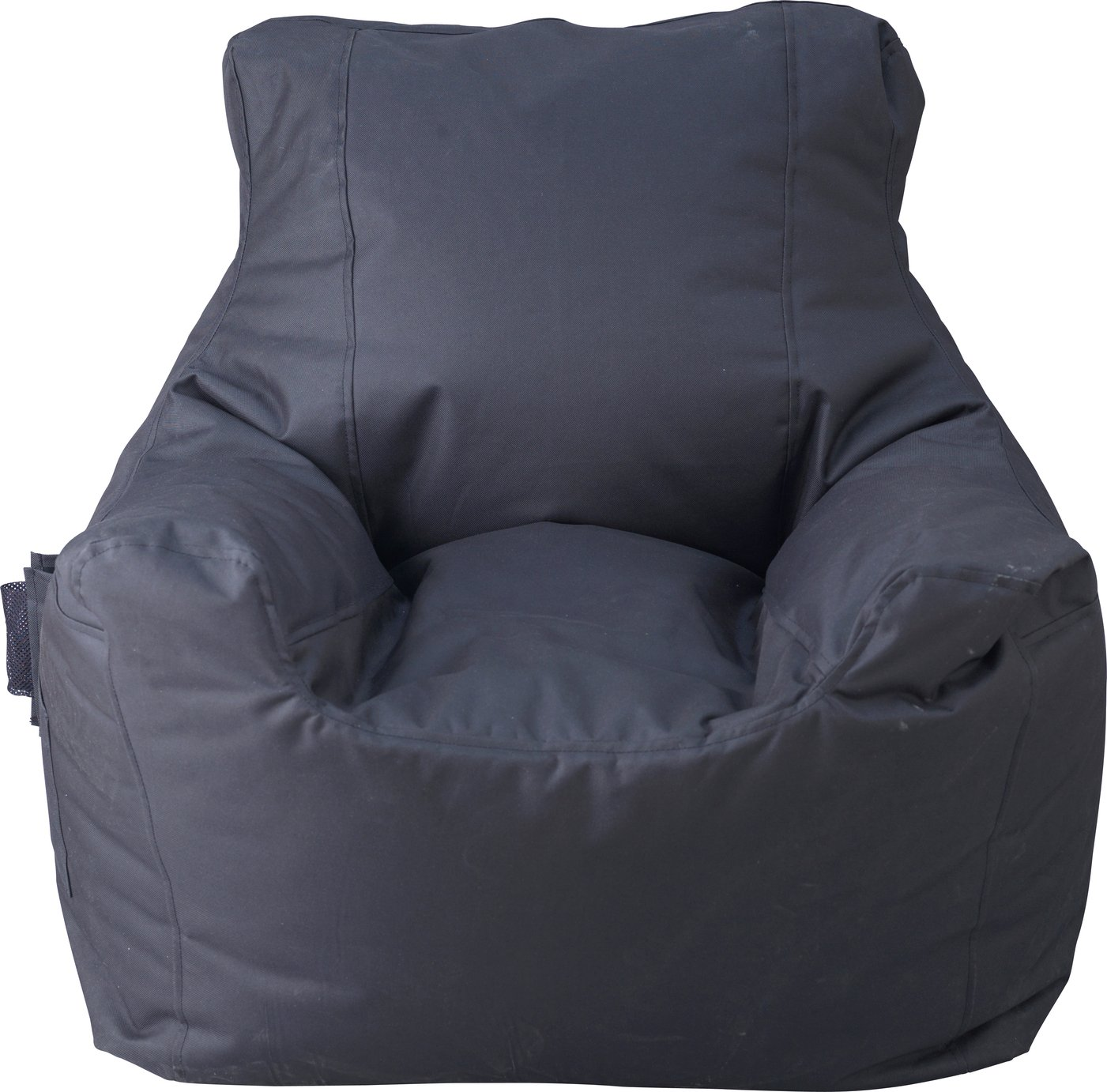 bean bag gaming chair argos covers used buy home large fabric teenagers beanbag black beanbags click to zoom
