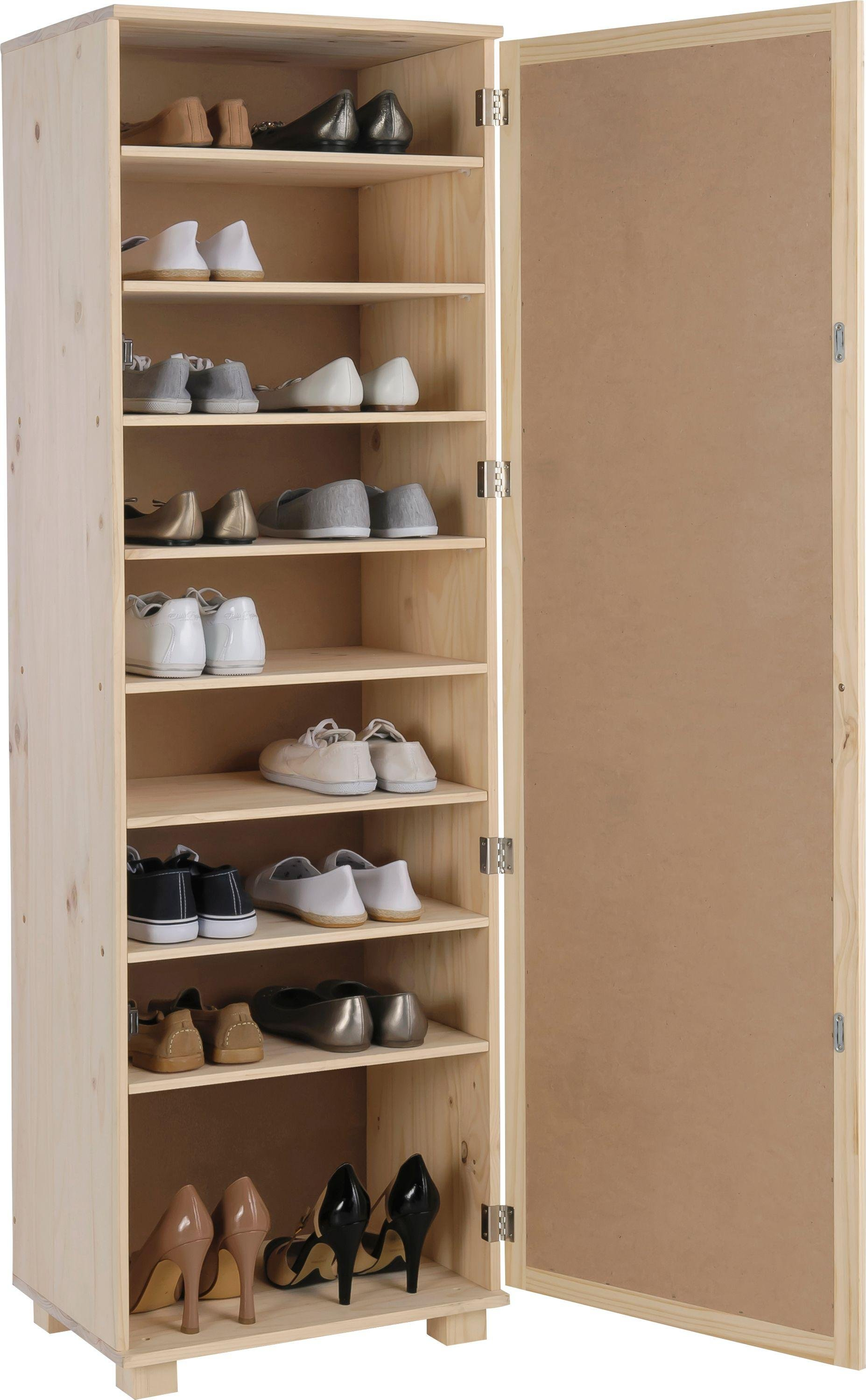 Buy HOME Mirrored Shoe Storage Cabinet