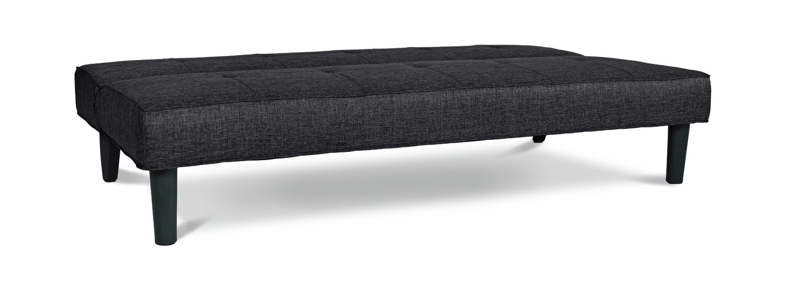 argos marwell clic clac sofa bed affordable leather sofas chaise longue baci living room