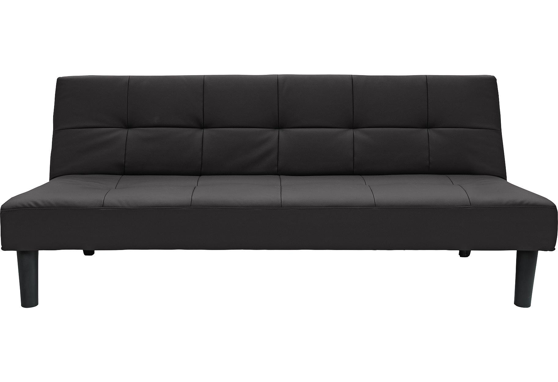 black leather sofa bed argos antique sofas northern ireland buy home patsy 2 seater clic clac