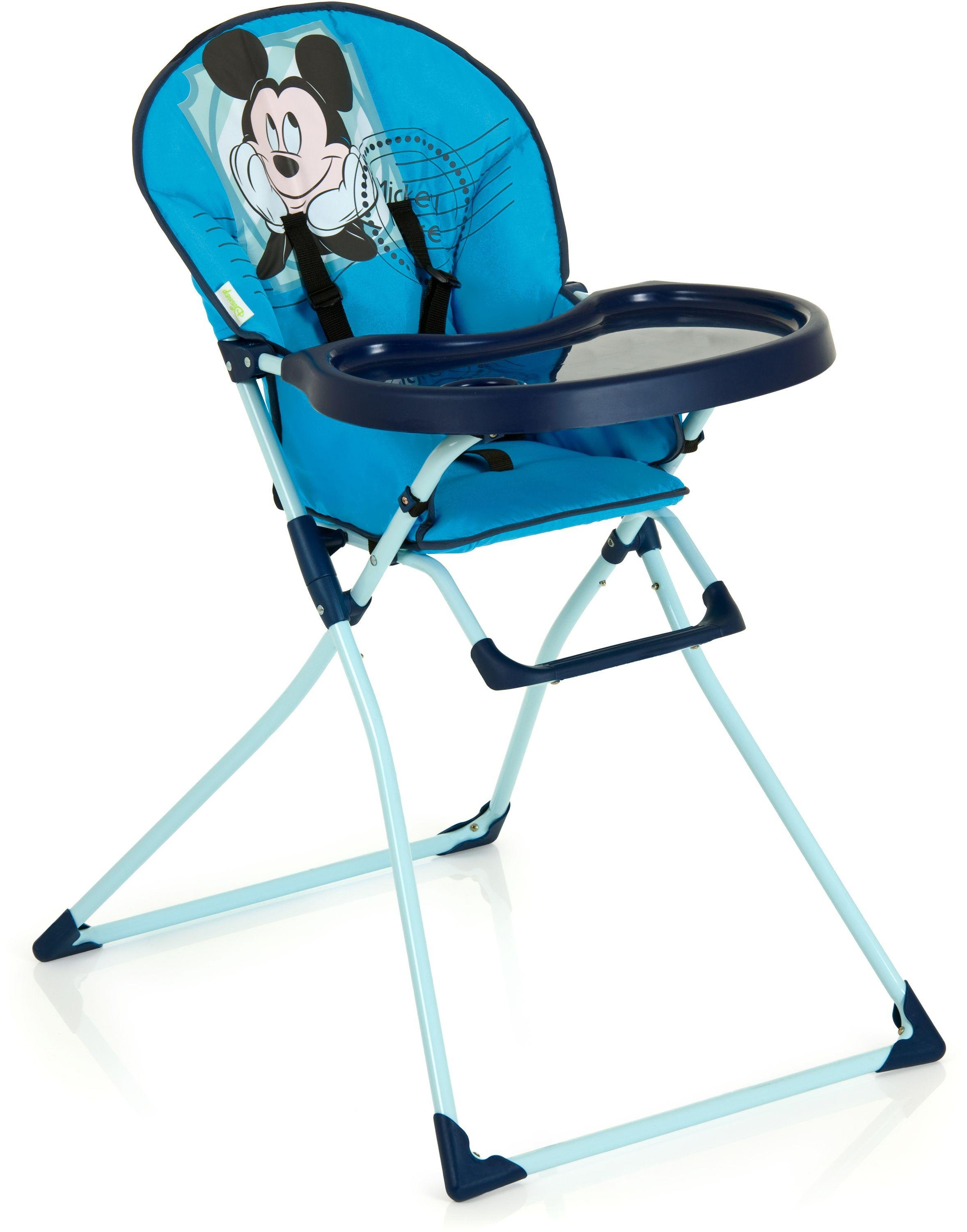mickey mouse saucer chair uk folding bunnings disney baby mac highchair review