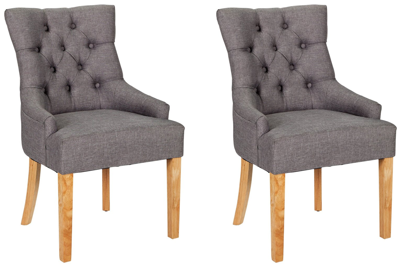 dining chairs chair rail paint ideas buy argos home pair of cherwell charcoal