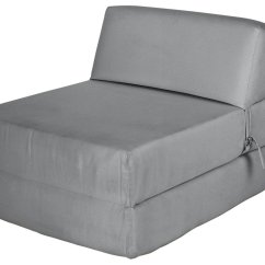 Chair Bed With Arms Uk Extra Large Round Swivel Buy Argos Home Single Cotton Chairbed Flint Grey Sofa Beds