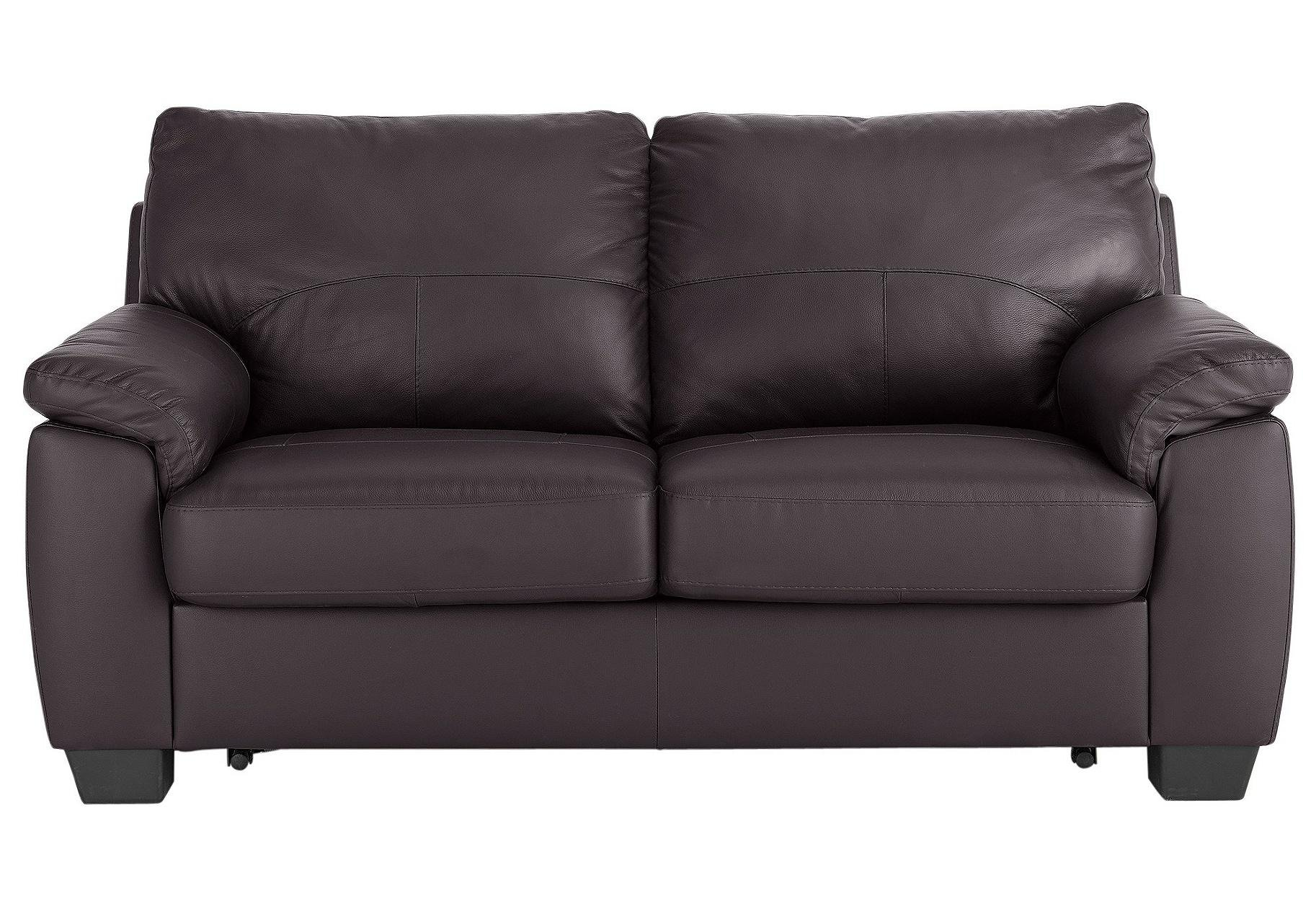 black leather sofa bed argos stanley showroom in bangalore buy home logan 2 seater faux chocolate