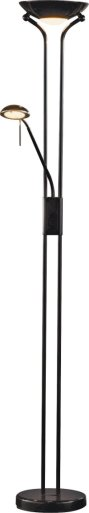 Buy HOME Father and Child Uplighter Floor Lamp - Black at ...