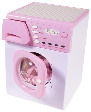 Buy Casdon Toy Electronic Washing Machine Pink Role