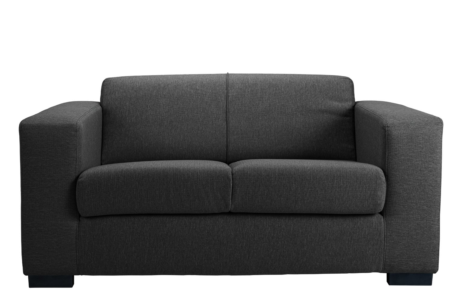 argos ava fabric sofa review clayton dfs buy home compact 2 seater charcoal sofas