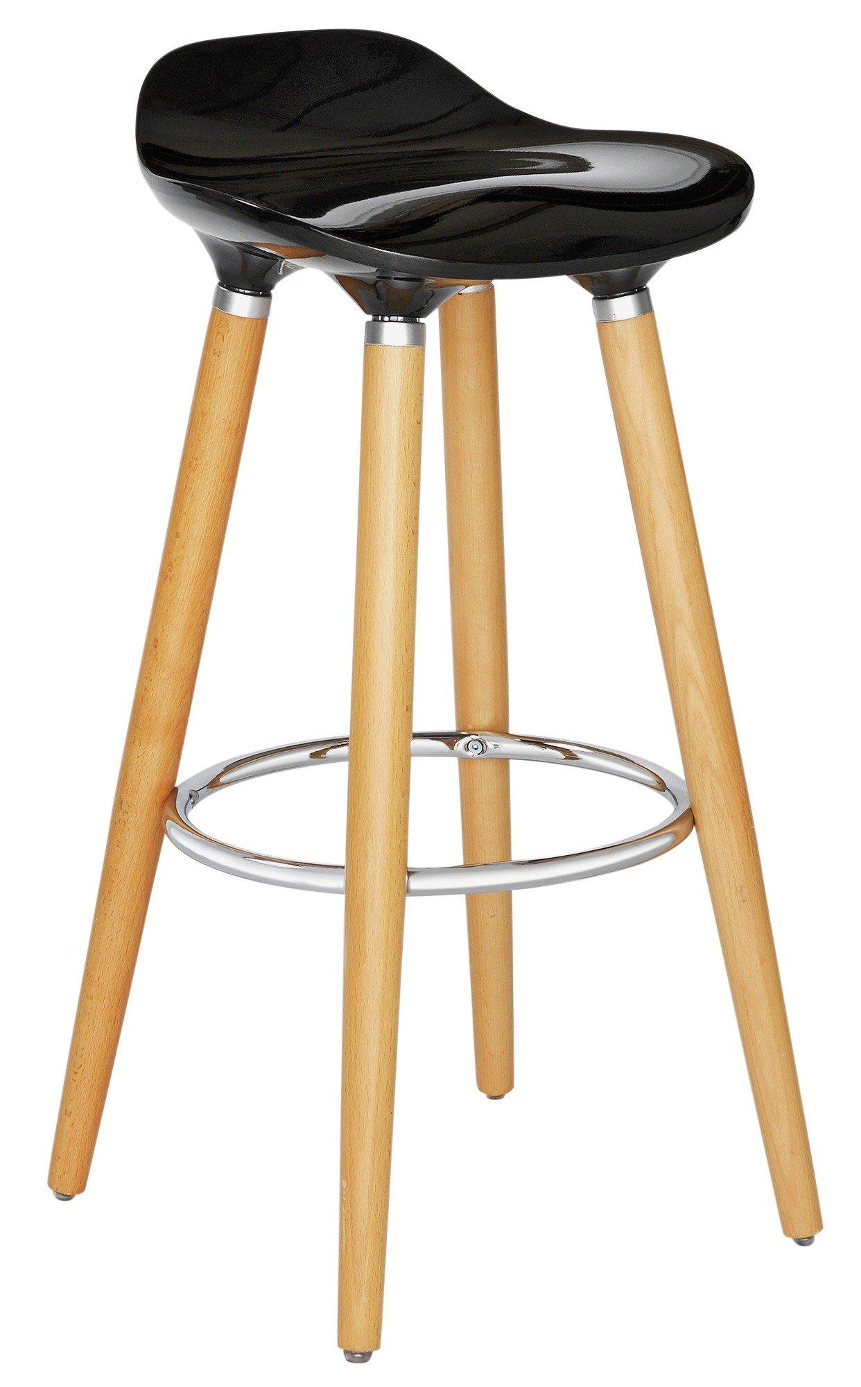 beach chairs uk argos wheelchair graphic sale on hygena bay bar stool black now