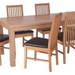 Rubberwood Butterfly Table With 4 Chairs Recliners That Look Like Regular Home Hemsley Ext Wood Veneer Dining And 6 Gay Times