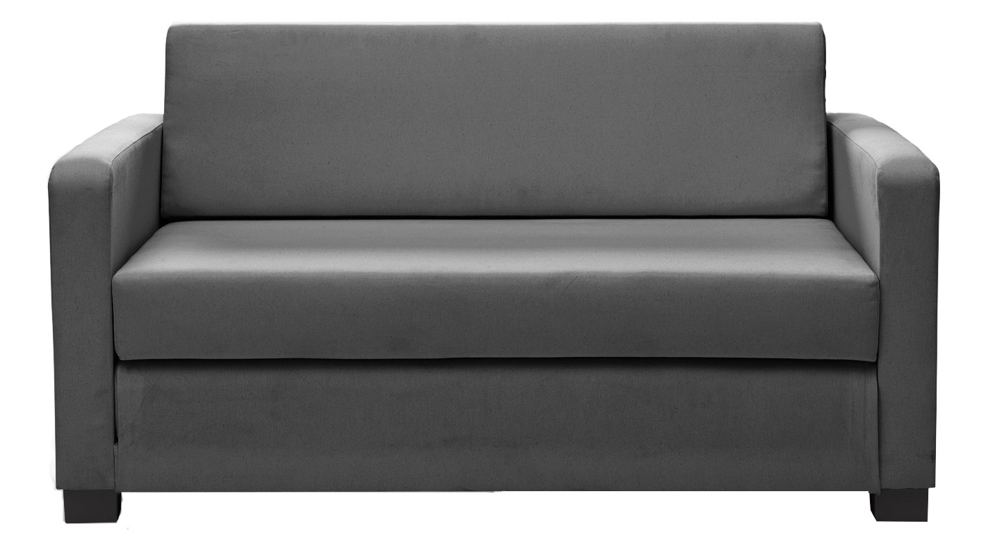 fold out chair bed argos acapulco comfortable buy home lucy 2 seater fabric sofa grey beds