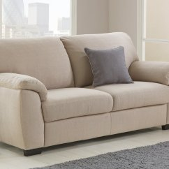 3 Seater Fabric Sofa Royal Blue Velvet Tufted Buy Argos Home Milano Beige Sofas Loading