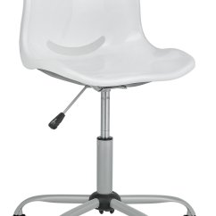 Desk Chair Height Lifetime Adirondack Model 60064 Delta Adjustable Office White