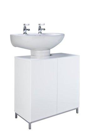 buy argos home gloss under sink unit white under sink storage argos