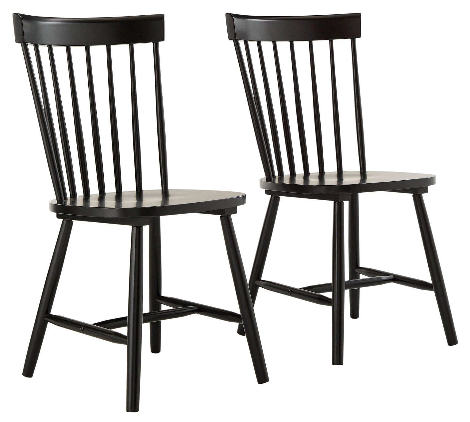 wooden kitchen chairs argos ngt fishing chair sale on hygena luna pair of black dining