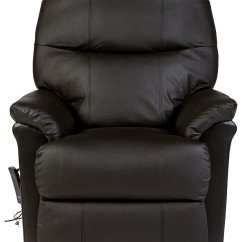 Electric Recliner Chairs Argos Rattan Outdoor Uk Buy Lars Riser Single Motor Leather Chair Dark Brown