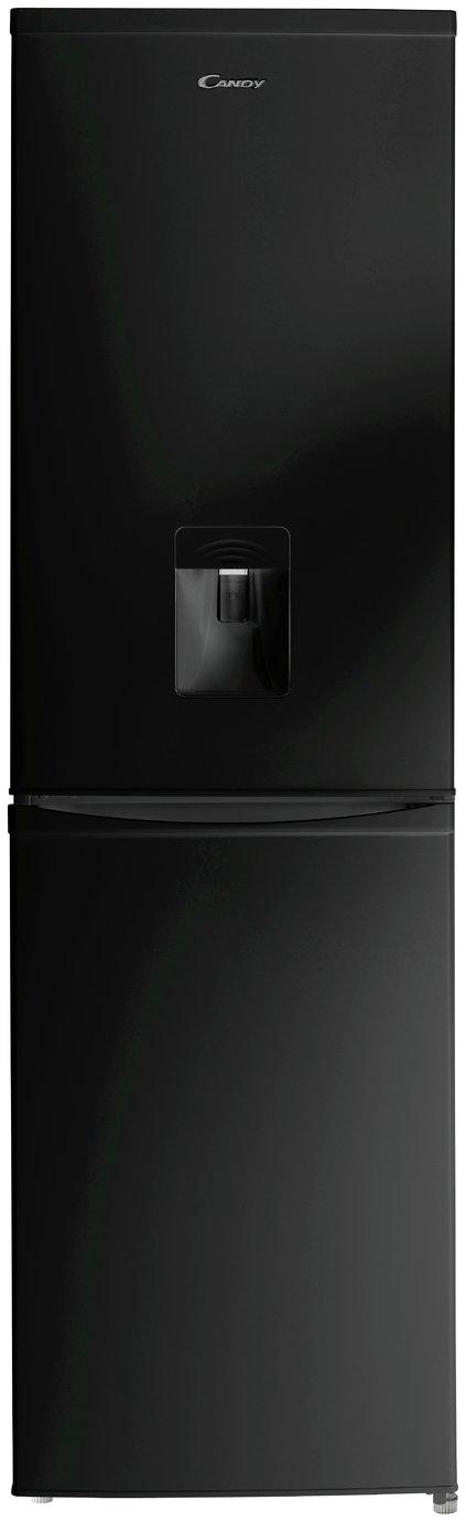 large kitchen appliances art decor candy ccbf5182bwk fridge freezer with water dispenser black