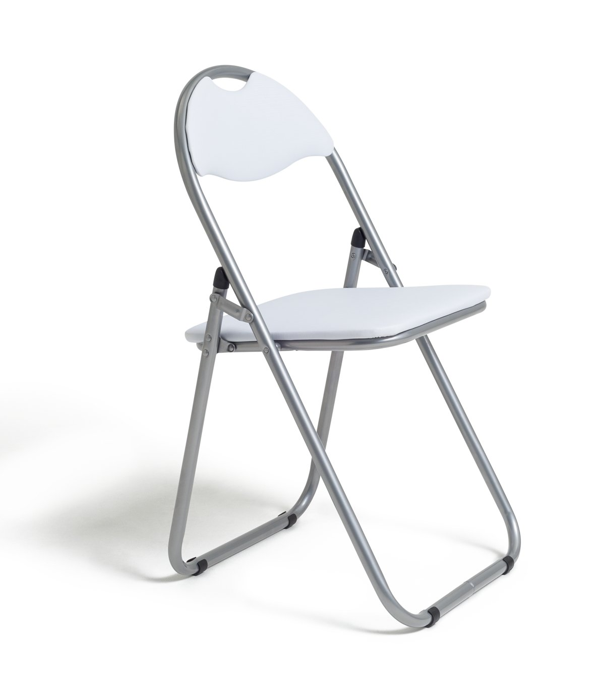 folding desk chair webbed chaise lounge chairs buy argos home padded office white
