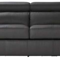 3 2 Leather Sofa Deals Sofabed Factory Hygena Valencia Seater Grey