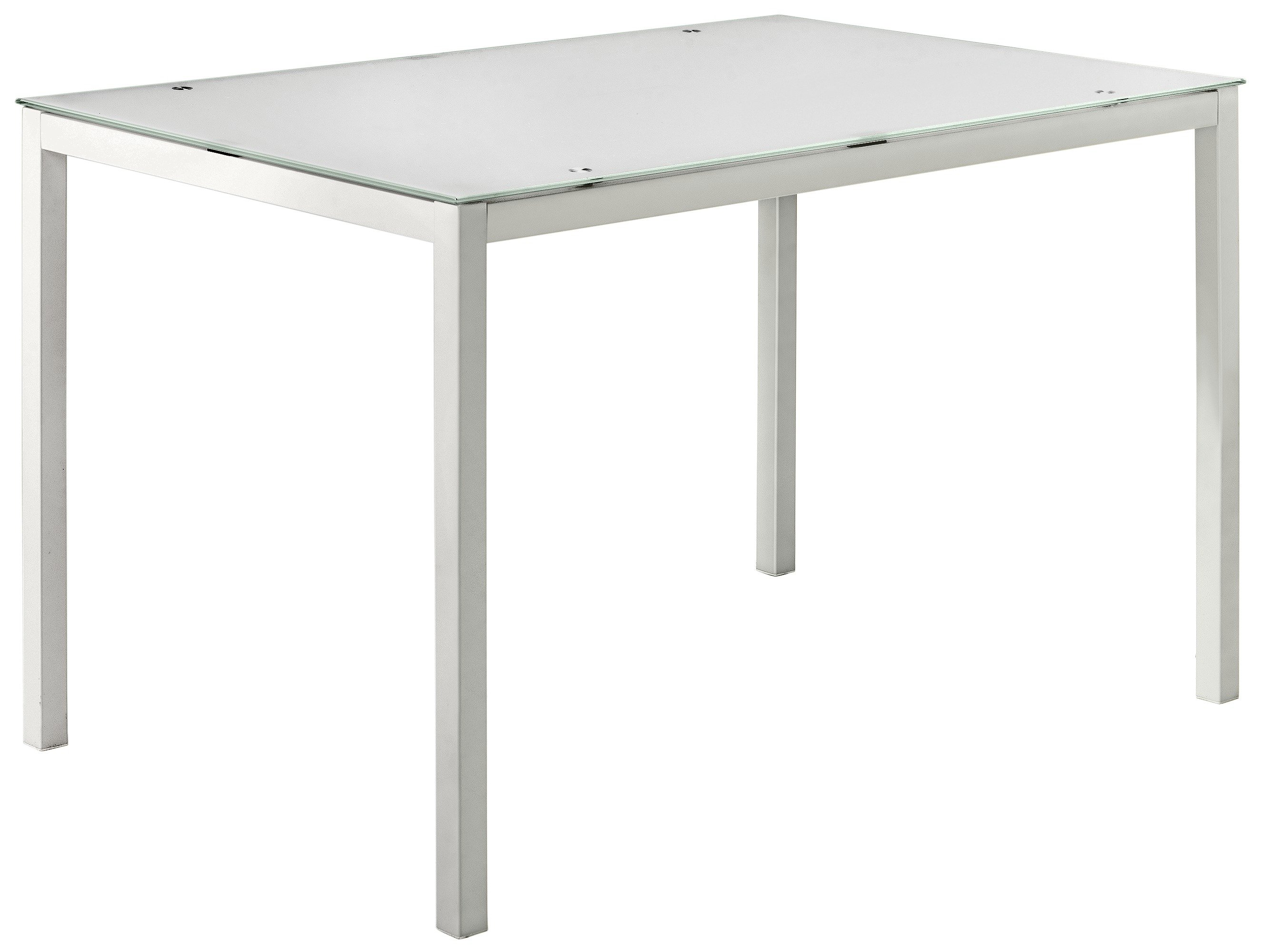 small kitchen table and chairs argos glider patio buy home lido glass dining 4 white click to zoom