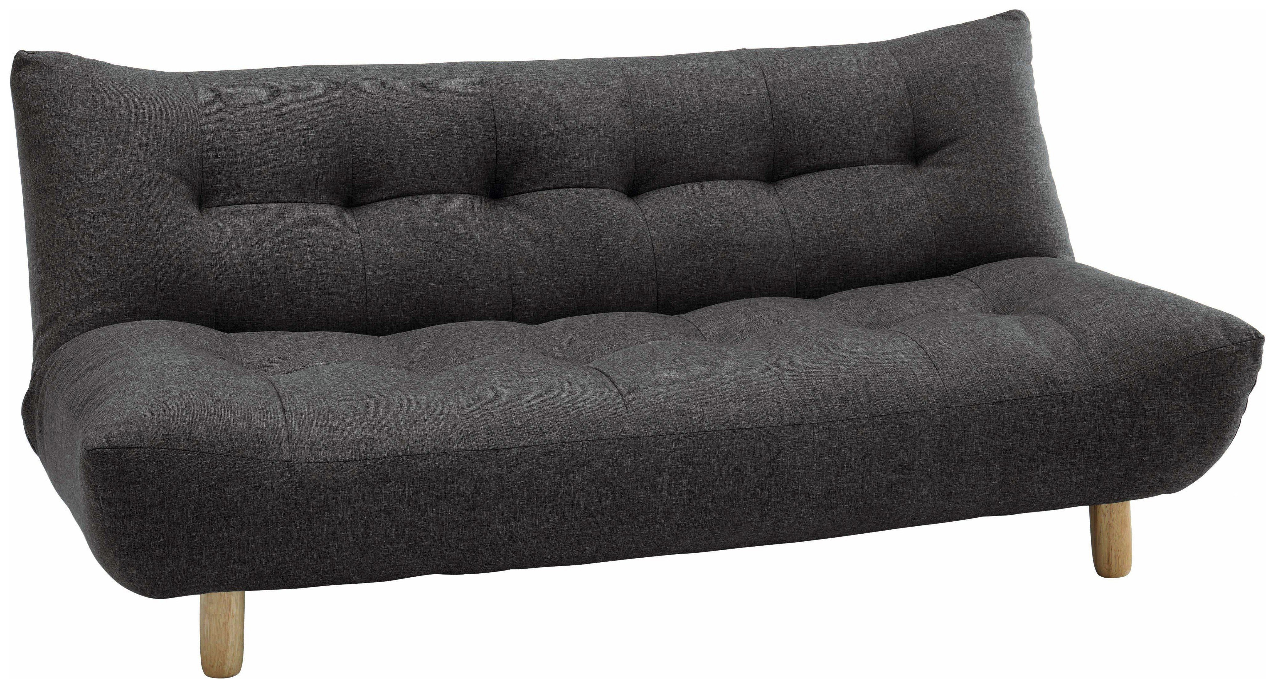 fold out chair bed argos velvet covers for sale buy habitat kota 3 seater fabric sofa charcoal beds