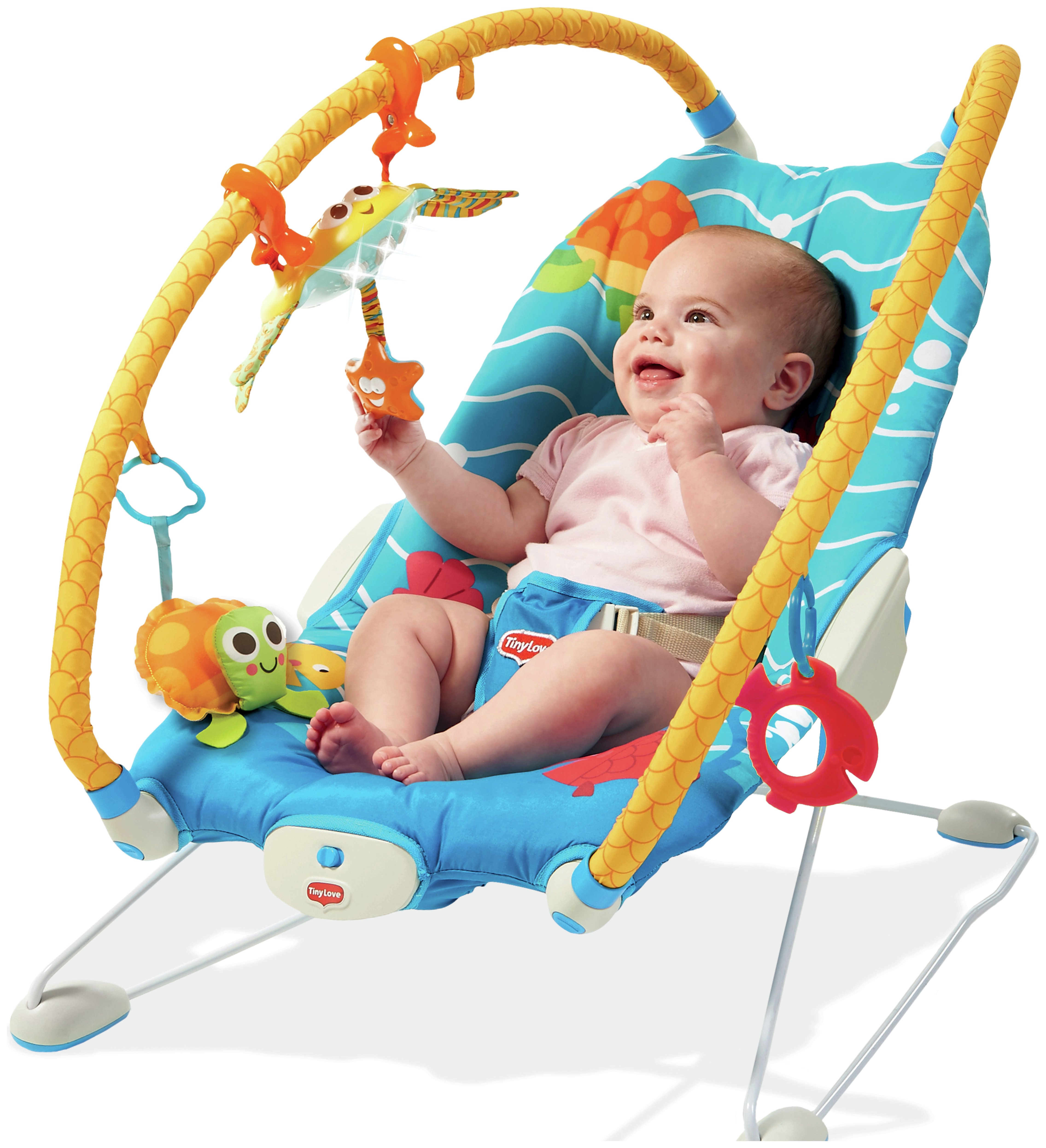 argos baby bouncer chair eames molded plywood dining tiny love gymini under the sea 59 99 octer