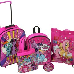 My Little Pony Table And Chairs Steelers Chair Sale On 5 Piece Luggage Set