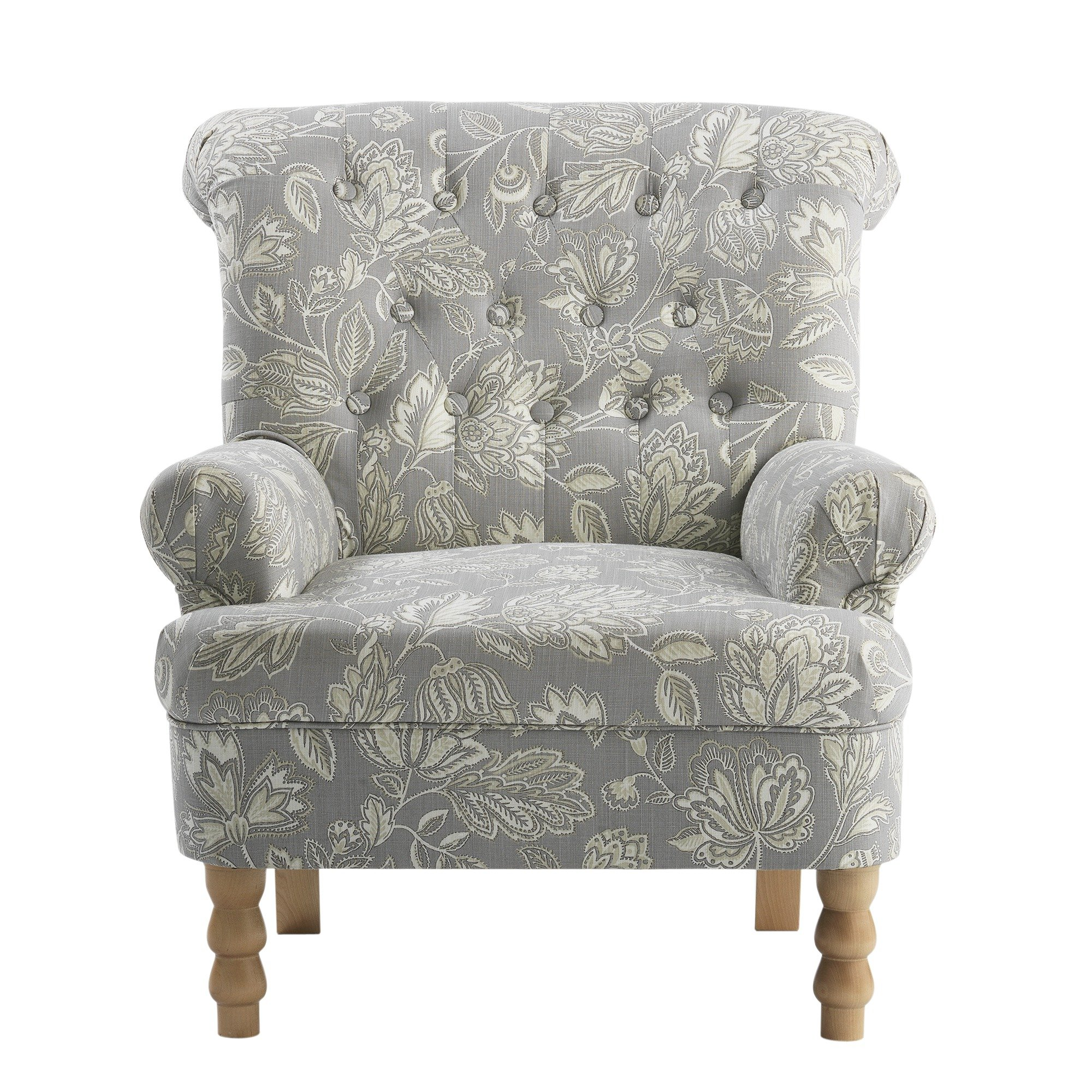 floral arm chair aluminum chaise lounge chairs buy argos home darcy fabric armchair armchairs and