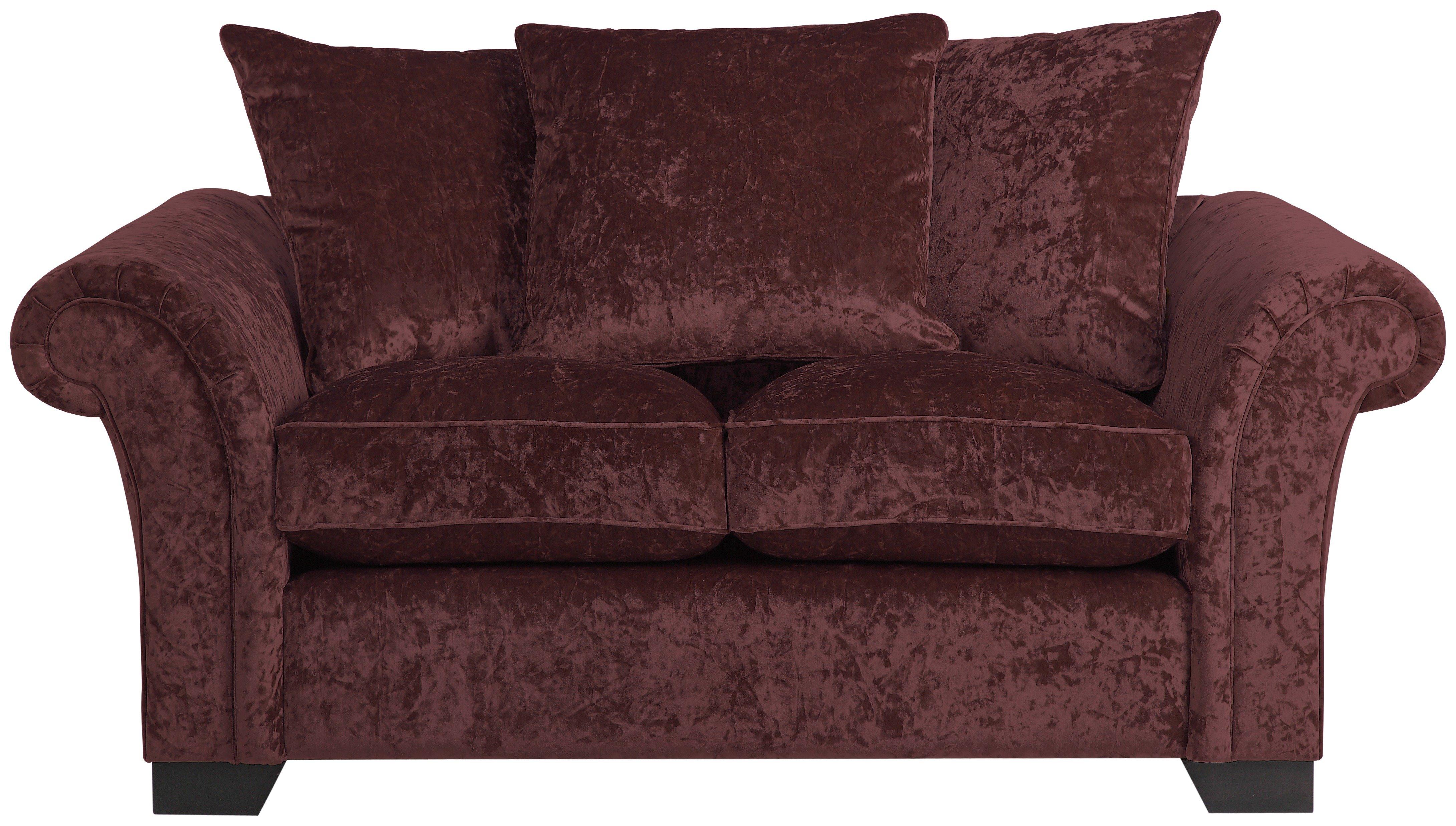 argos ava fabric sofa review cote style furniture home glitz 2 seater mulberry