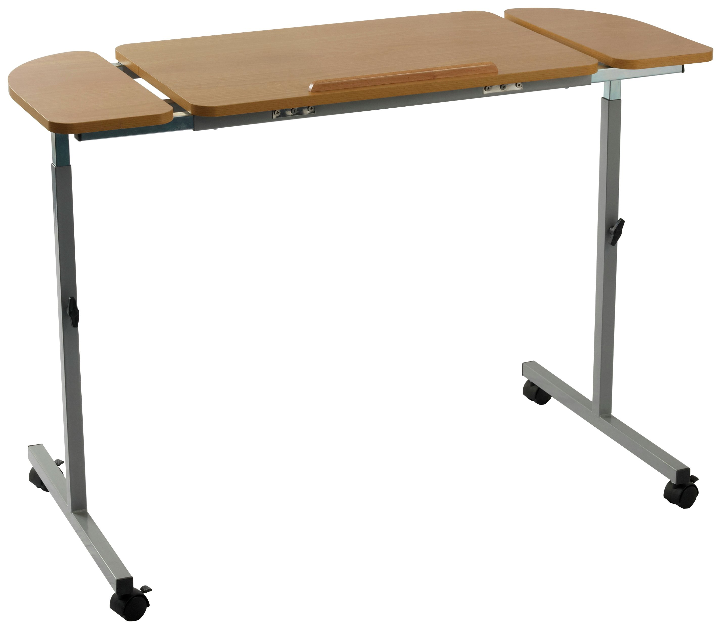 over chair tables uk the ball adjustable curved overbed table  40cm depth