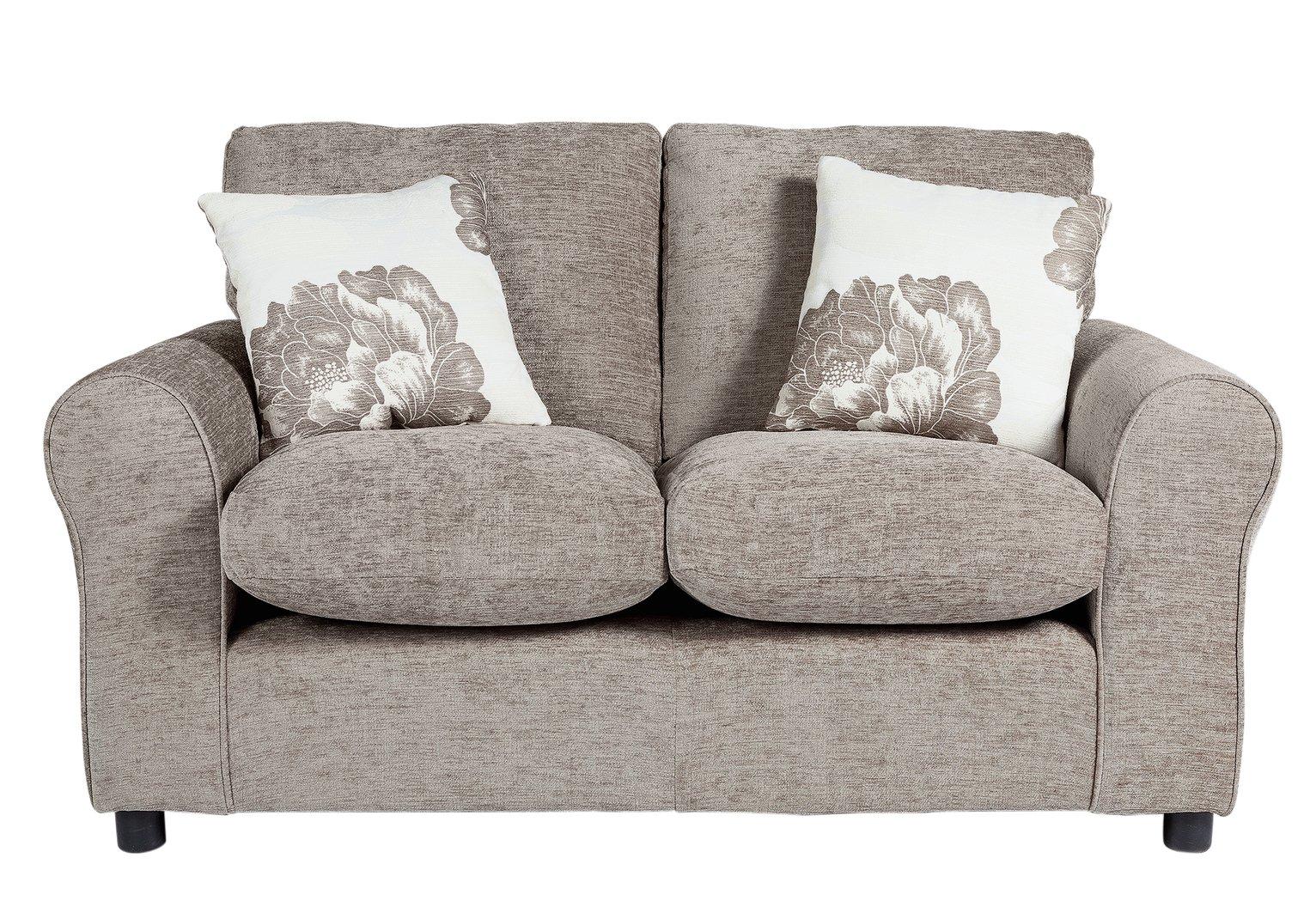 fabric chesterfield sofa argos modesto ii rv sleeper bed sale on home tessa compact 2 seater mink