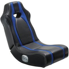 Gaming Floor Chair Ball Base Only X Rocker Black And Blue