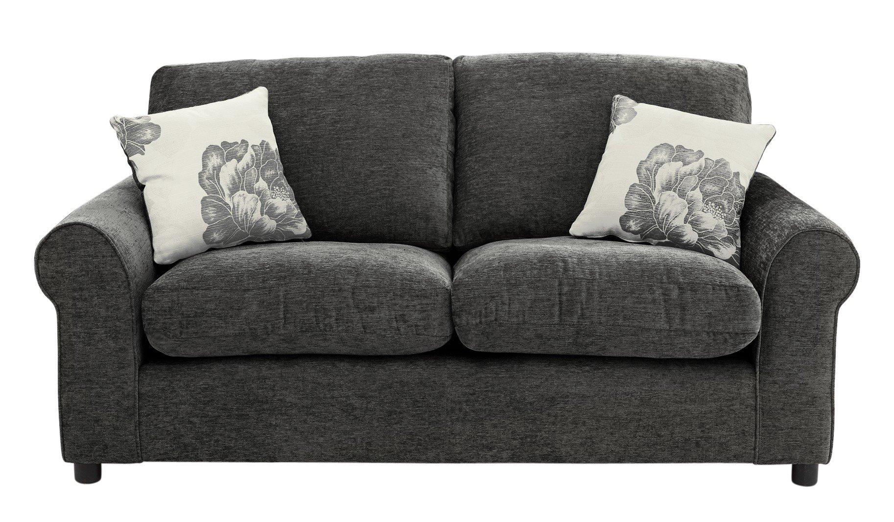 fabric chesterfield sofa argos friheten corner bed skiftebo beige sale on home tessa 2 seater charcoal