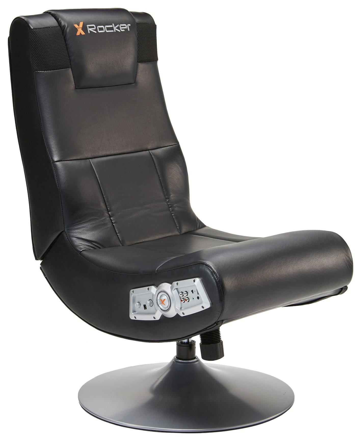 X Rocker Pedestal Chair