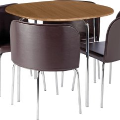 Wooden Kitchen Chairs Argos Parson Chair Slipcovers Hygena Amparo Oak Effect Dining Table And 4 Gay