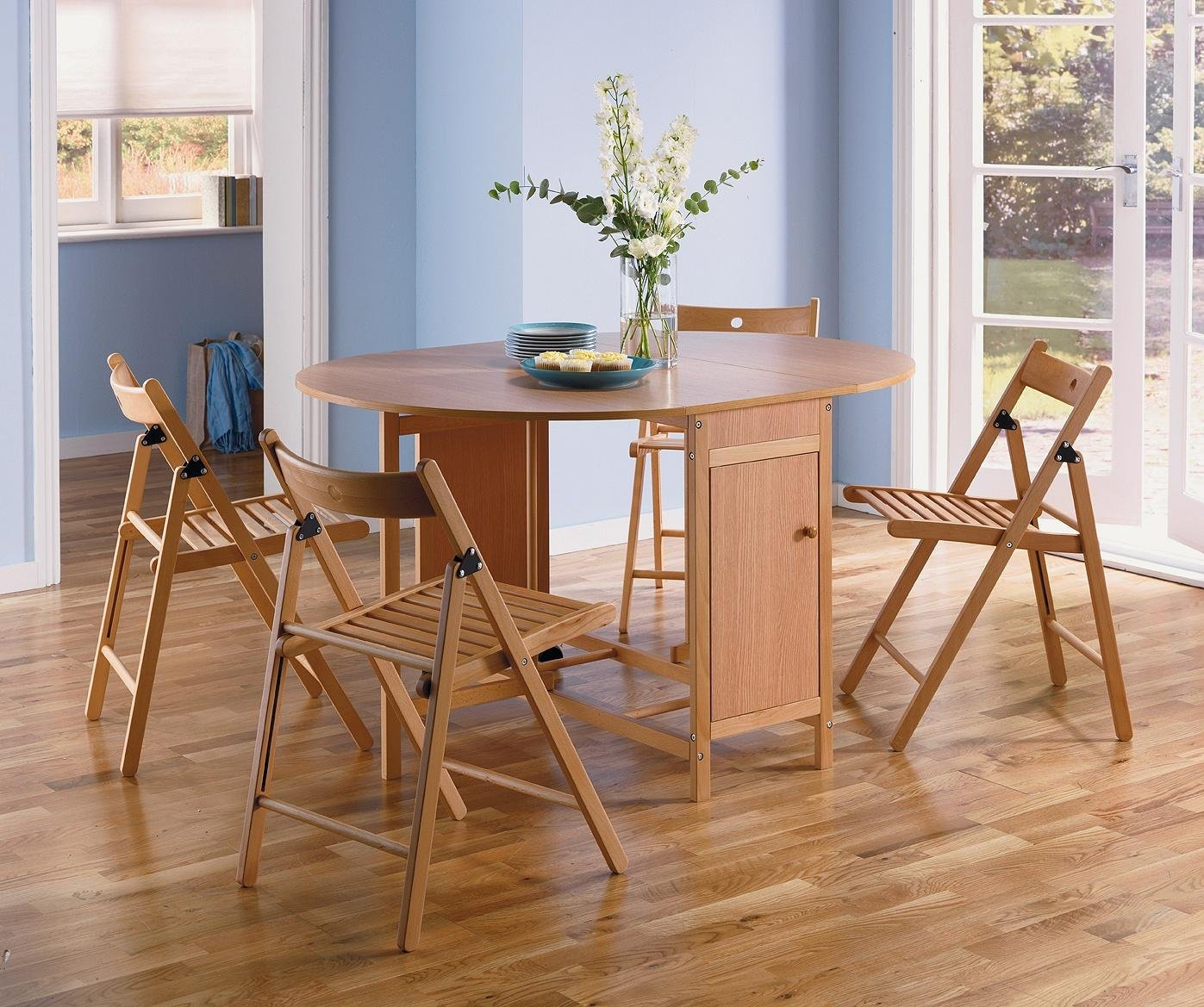 rubberwood butterfly table with 4 chairs phil and teds lobster high chair buy argos home extendable oval oak click to zoom