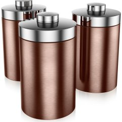 Copper Kitchen Utensil Holder Antique Metal Cabinet Swan Canisters Review