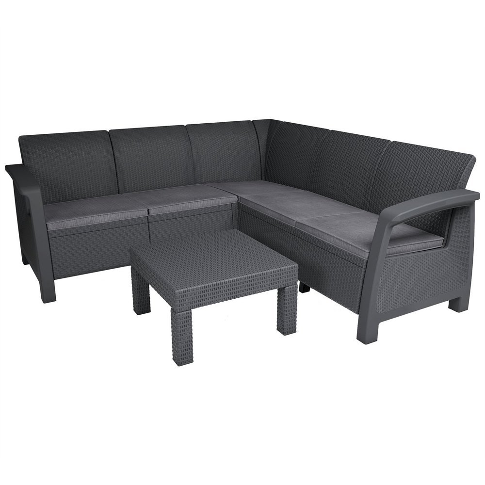corner sectional sofa reviews bed cheap keter bahamas set review
