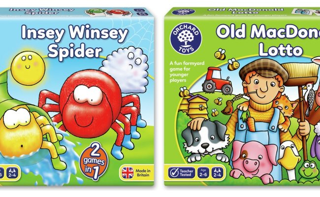 Sale On Early Learning Board Games 2 Pack Orchard Toys