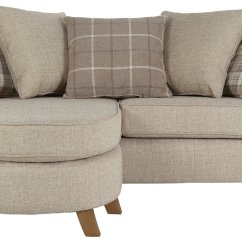 Durdham Fabric Chaise Longue Sofa Bed Best Quality Brands Collection Kayla 3 Seater