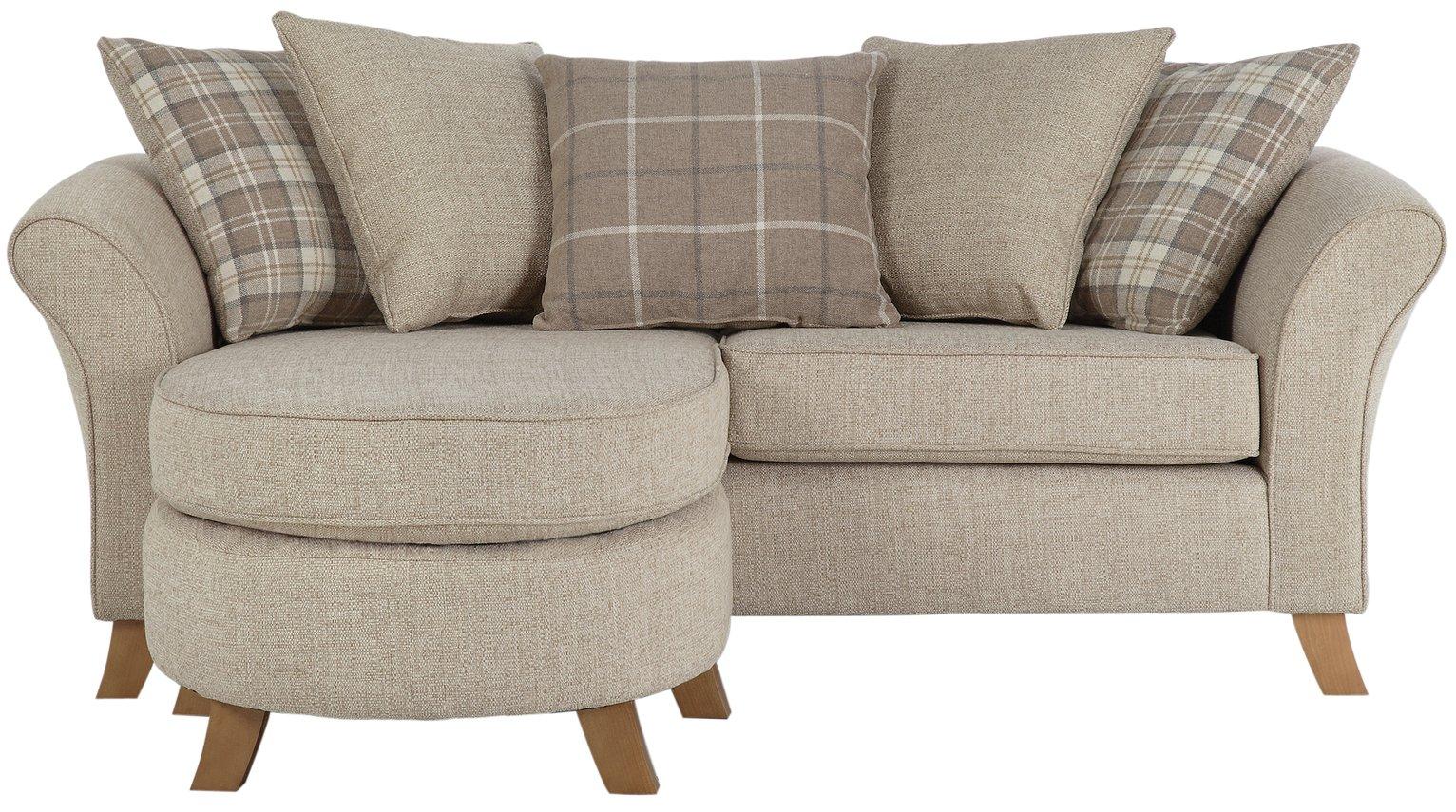 argos ava fabric sofa review davenport origin collection kayla 3 seater chaise longue