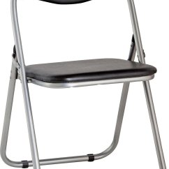 Black Padded Folding Chairs Rocking Chair Or Glider For Nursing Buy Argos Home Office