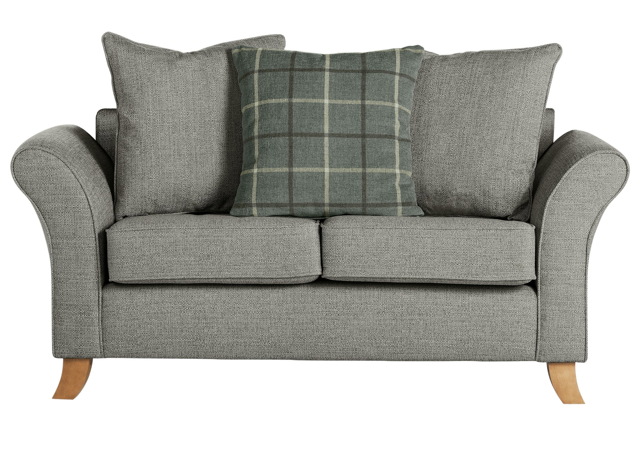 fabric chesterfield sofa argos images of living room with red sale on collection kayla 2 seater grey