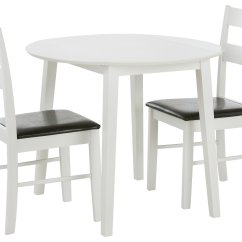 Table And 2 Chairs Cheap Kd Smart Chair Battery Buy Argos Home Wyton Round Drop Leaf White